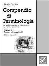 Compendio di Terminologia -: Volume 2