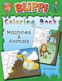 Blippi Coloring Book