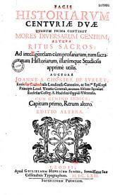 Facis historiarum centuriae duae,... auctore Ioanne a Chokier de Surlet