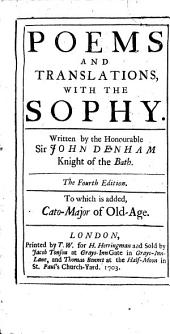 Poems and Translations, with the Sophy