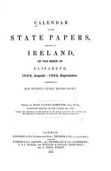 Calendar of the State Papers Relating to Ireland  of the Reigns of Henry VIII   Edward VI   Mary  and Elizabeth PDF