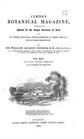 Curtis's Botanical Magazine: Volume 83