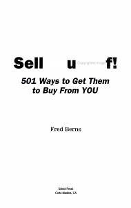 Sell Yourself PDF