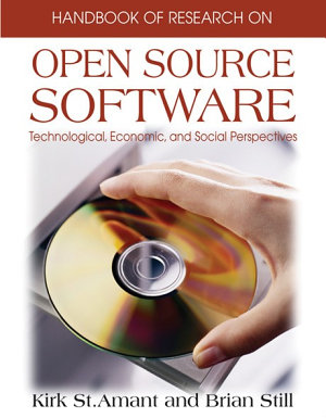 Handbook of Research on Open Source Software  Technological  Economic  and Social Perspectives PDF