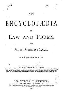 Encyclop  dia of Law and Forms PDF