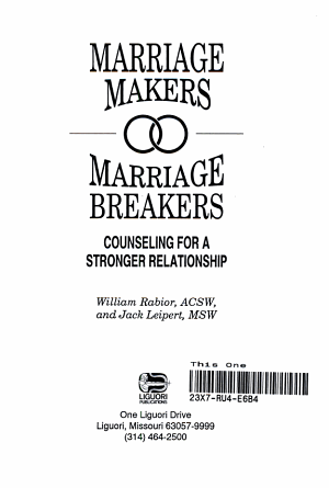 Marriage Makers  Marriage Breakers