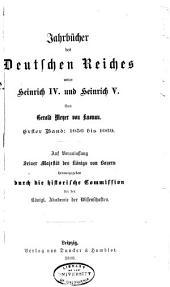 Jahrbucher der deutschen Geschichte: Band 23