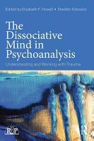 The Dissociative Mind in Psychoanalysis PDF