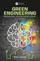 Green Engineering PDF
