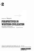 Perspectives in Western Civilization PDF