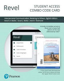 Revel for Interpersonal Communication Relating to Others    Combo Access Card PDF