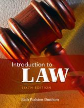 Introduction to Law: Edition 6