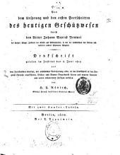 Von dem Ursprung und den ersten Fortschritten des heutigen Geschützwesen: Denkschrift gelesen den 8. Juni 1815