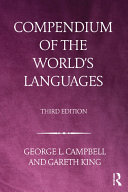 Compendium of the World's Languages