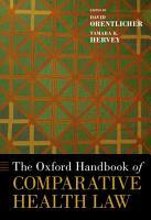 The Oxford Handbook of Comparative Health Law PDF
