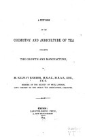 A Text Book on the Chemistry and Agriculture of Tea PDF