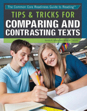 Tips   Tricks for Comparing and Contrasting Texts PDF