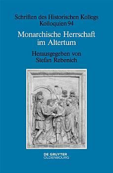 Monarchische Herrschaft im Altertum PDF