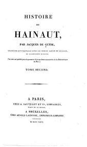 Histoire de Hainaut: Volume2