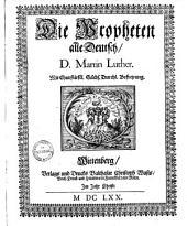 Die Propheten alle deutsch
