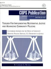 Toolbox for Implementing Restorative Justice and Advancing Community Policing PDF