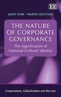 The Nature of Corporate Governance PDF