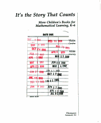 It s the Story that Counts