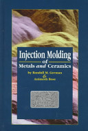 Injection Molding of Metals and Ceramics