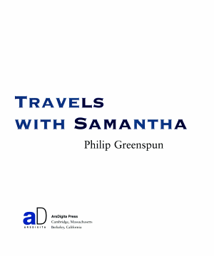 Travels with Samantha PDF
