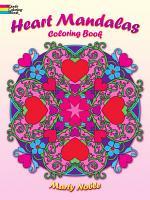 Heart Mandalas Coloring Book