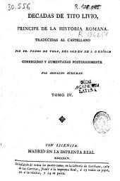 Decadas de Tito Livio, principe de la historia romana: Volumen 4