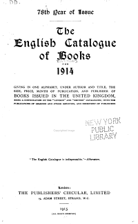 The English Catalogue of Books      1801 1836  Ed  and comp  by R A  Peddie and Q  Waddington  1914 PDF