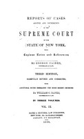 Reports of Cases Argued and Determined in the Supreme Court of the State of New York  1803 1805  PDF