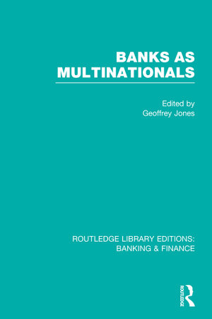 Banks as Multinationals PDF