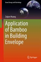 Application of Bamboo in Building Envelope PDF