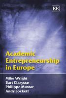 Academic Entrepreneurship in Europe PDF