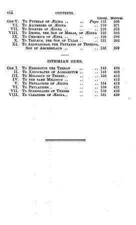 The Odes of Pindar PDF