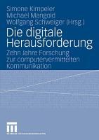 Die digitale Herausforderung PDF