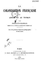 La colonisation en Annam et au Tonkin
