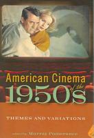 American Cinema of the 1950s PDF