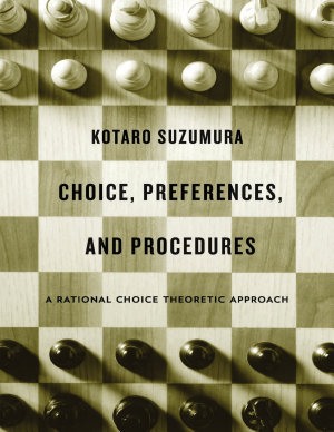 Choice  Preferences  and Procedures