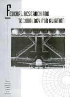 Federal Research and Technology for Aviation PDF