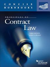 Principles of Contract Law, 3d (Concise Hornbook Series): Edition 3