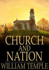 Church and Nation: The Bishop Paddock Lectures for 1914-15