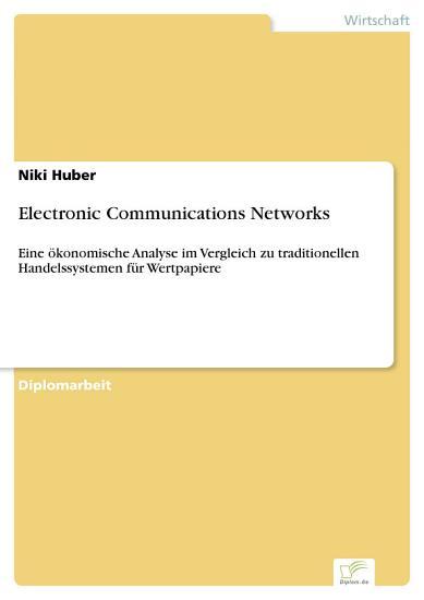 Electronic Communications Networks PDF