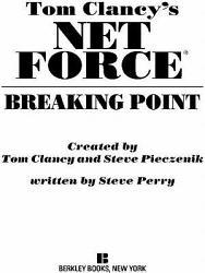 Tom Clancy S Net Force Breaking Point Book PDF