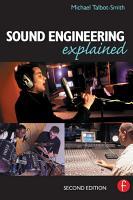 Sound Engineering Explained PDF