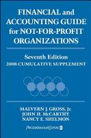 Financial and Accounting Guide for Not for Profit Organizations  2008 Cumulative Supplement PDF