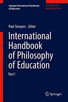 International Handbook of Philosophy of Education PDF