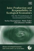 Joint Production and Responsibility in Ecological Economics PDF